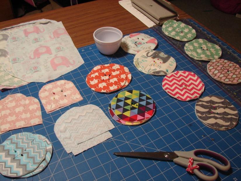 gift sets in progress