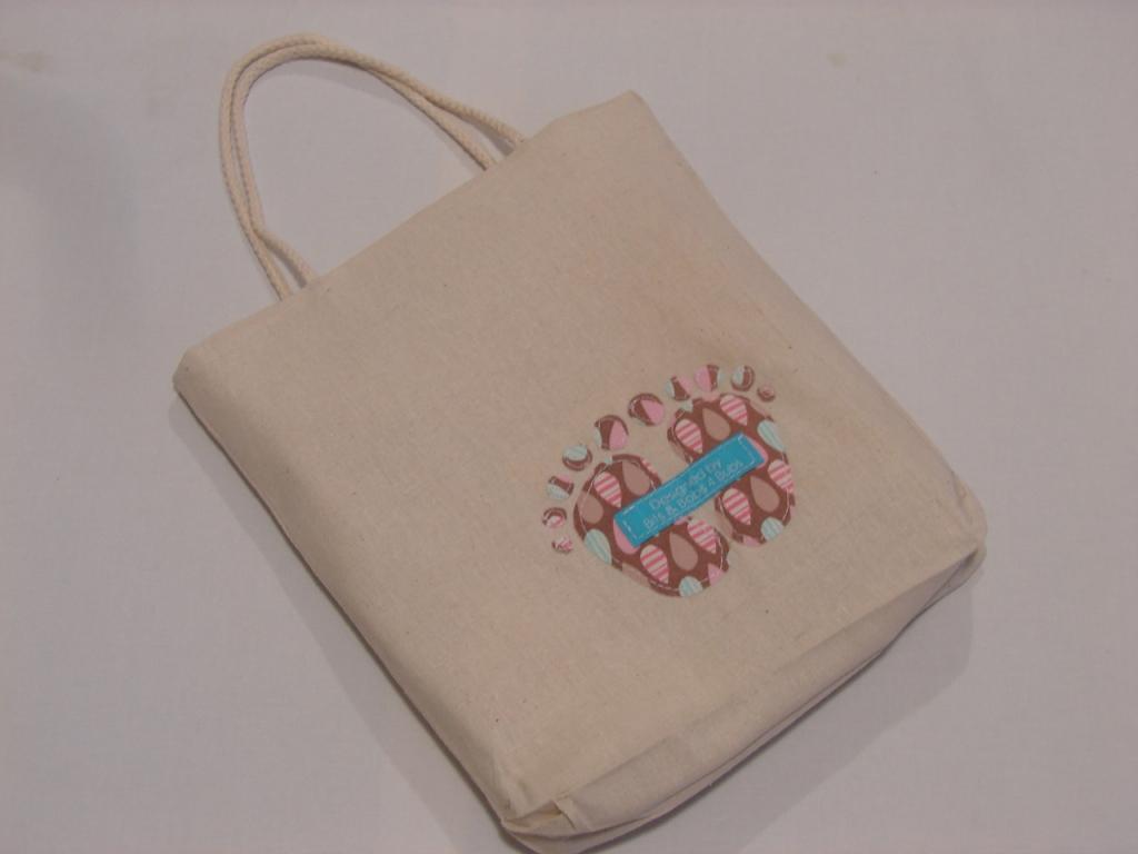 calico gift bag