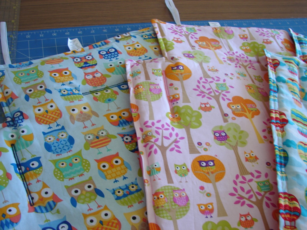 owl print trolley mat/cover