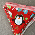 Christmas Penguin Bunting from Plushka