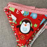 Christmas Penguin Bunting from Plushka