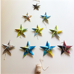 Origami Christmas Stars from Salty & Son Trading Co