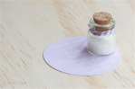 Small white wish jar from Coco Cooie