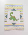 Dinosaur birthday card from Polka Dot Cupcake