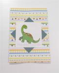 Dinosaur birthday card from Polka Dot Cupcake