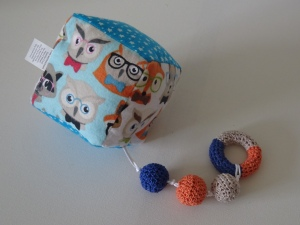 baby teething rattle