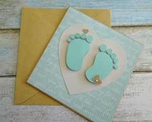 new baby boy gift card